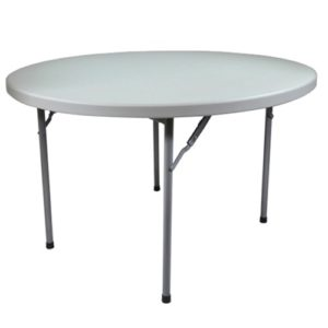 Round Plastic Folding Table Wedding