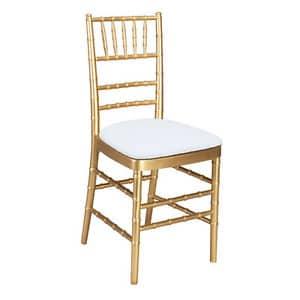 gold chiavari rental chair red deer