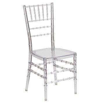 clear chiavari wedding chair rental red deer