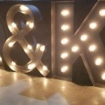 Marquee Letters A&K