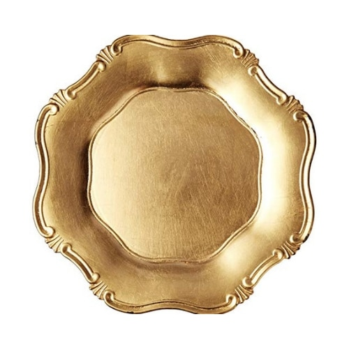 Baroque Charger Plate – Gold