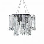 2 tier short chandelier